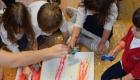 kids having drawing activity